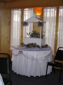Wedding Table - Riverside Gardens