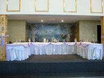 Bridal Table - Riverside Gardens