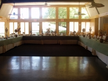 Bridal Table and Dance Floor