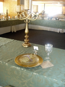 Table Setting - Riverside Gardens